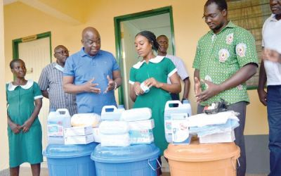 Maritime Authority gives UE Health Directorate PPE