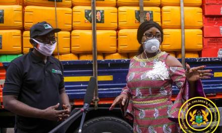 Bank of Africa provides COVID-19 food assistance