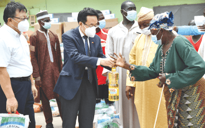 Ghana Chinese Community assists Muslims in Accra
