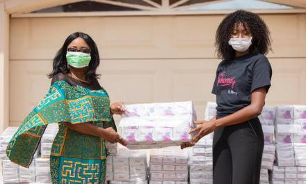Sincerely Ghana gives hygiene supplies to 'Kayayei'