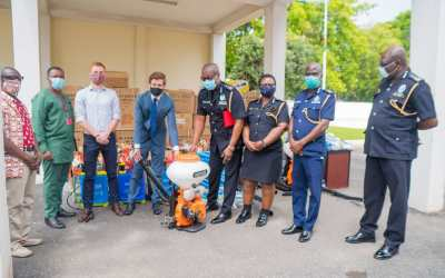 Germany provides equipment to Ghana Police