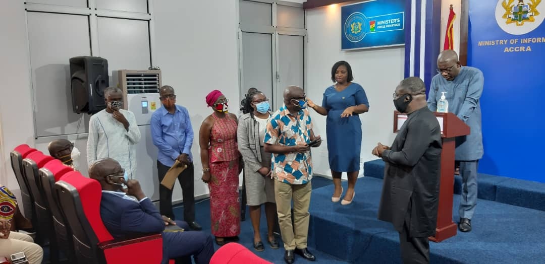 CIMG donates GHS40,000 to Covid-19 Trust Fund