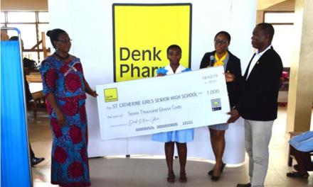 Denk Pharma assists St. Catherine Girls infirmary