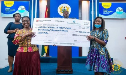 Pernod Ricard commits GHS193k to COVID-19 fight