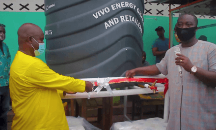 Vivo Energy provides water, hygiene facilities, PPE