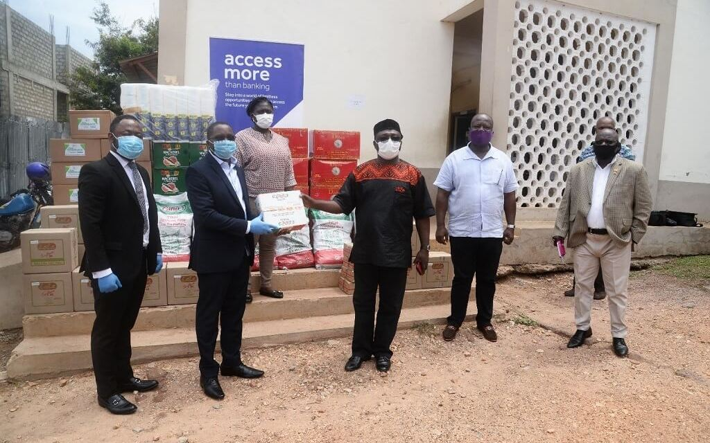 Access Bank gives food, PPE to 15 municipalities