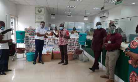LISAG donates PPE, supplies to Lands Commission