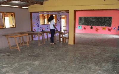Merging Mites refurbishes Bukunor Basic School