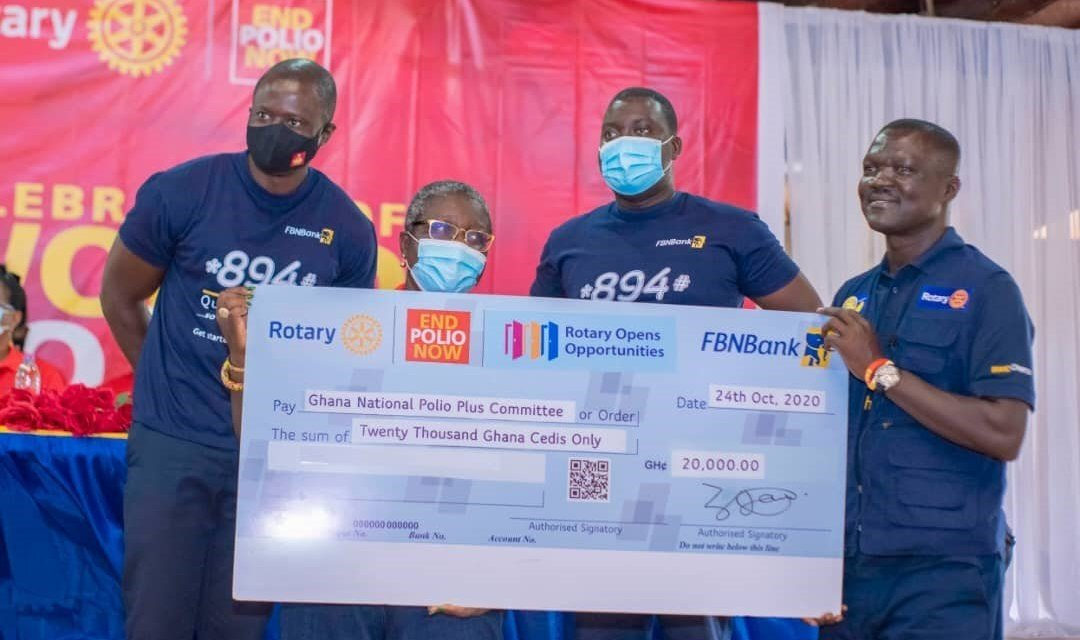 FBNBank supports Rotary and partners fight Polio
