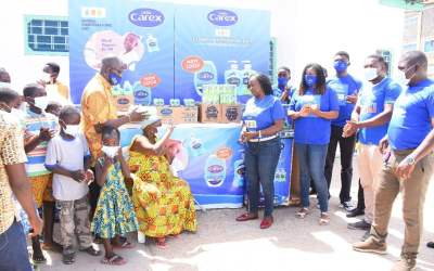 PZ Cussons assists orphanages across Ghana