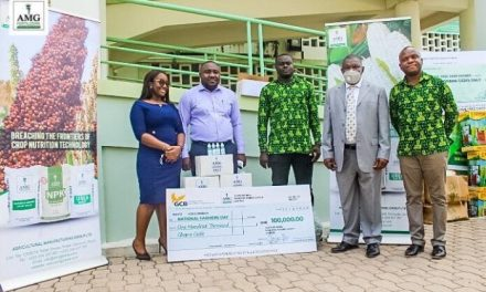 36th Farmers Day: AMG gives GHS100k, PPE, other