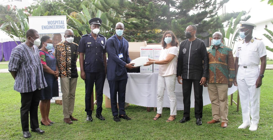 German Government provides 14 Ventilators to six hospitals in Ghana