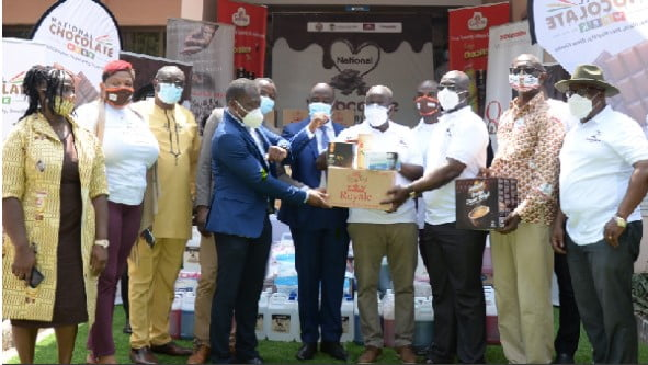 Barry Carrybaut, COCOBOD, CPC and  Tourism Authority support Ghana Medical Association
