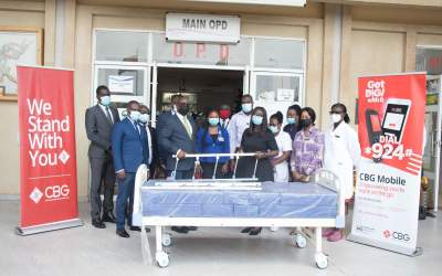 Consolidated Bank Ghana donates hospital beds to LEKMA Hospital in Accra