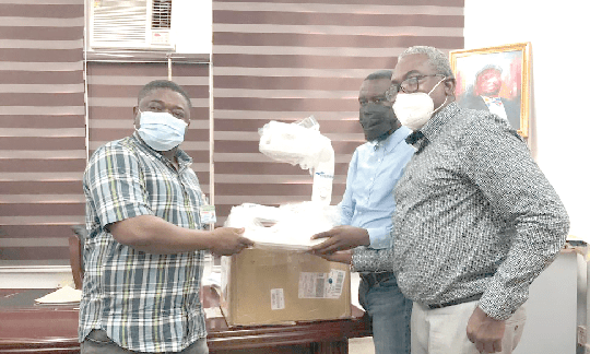 Sysmex West and Central Africa donates infrared vein finder to Effia-Nkwanta Hospital