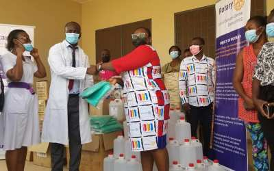 Rotary Club of Sunyani Central gives equipment, supplies to Sunyani Municipal Hospital