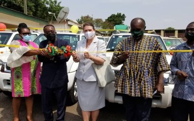 Government of Canada gives MOFA 50 vehicles to strengthen agric extension services in Ghana