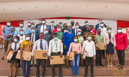 Zoomlion donates 50 laptops to bright students at knust in need of assistance