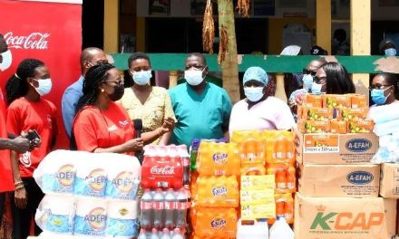 Coca-Cola Ghana gives to Teshie Community Clinic on World Health Day 2021