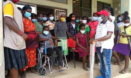 Ghana Red Cross Society – Gomoa West assists 22 girls with disability in STAGE Project