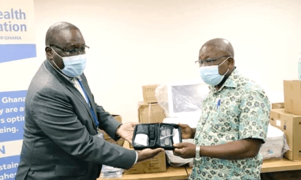 WHO assists COVID-19 fight in Ghana with donation of ICU equipment to Ghana's MOH