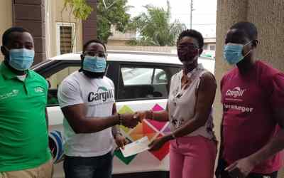 Cargill Ghana supports Citi FM's Easter Orphan Project 2021 with a donation of GHS5,000