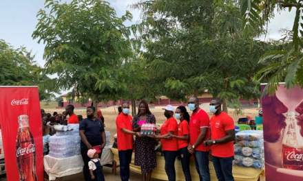 Coca-Cola Ghana supports Royal Seed Orphanage with food, clothing and toiletries