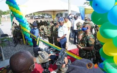 Gulf Energy commissions 50-bed facility for Ghana Armed Forces training base at Bundase