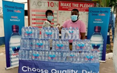 Voltic Ghana donates mineral water in support of Citi FM's Easter Orphan Project 2021