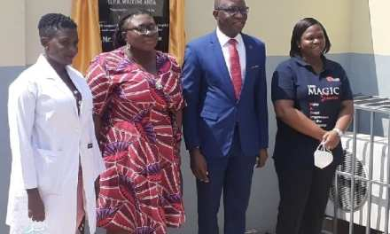 Inlaks Ltd refurbishes Out-Patients Department of Accra Psychiatric Hospital