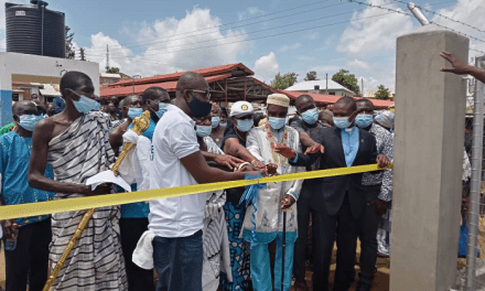 Rotary International, USAID provide potable groundwater system for Dokrochiwa community