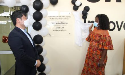 Samsung launches Swedru Innovation Campus, partners Ghana Code Club to train youth in coding
