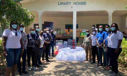 Stanbic Ghana employees give Village of Hope Orphanage GHS20,000, groceries and essentials