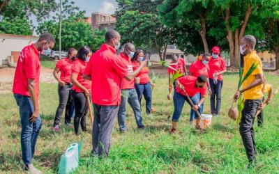 Absa Bank plants 5,000 trees to support Green Ghana national campaign to plant 5 million trees
