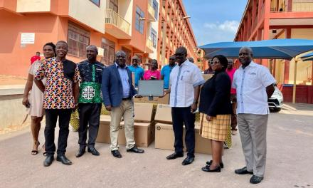 SIC Insurance gives ten computers worth GHS35,000 to Takoradi Technical University