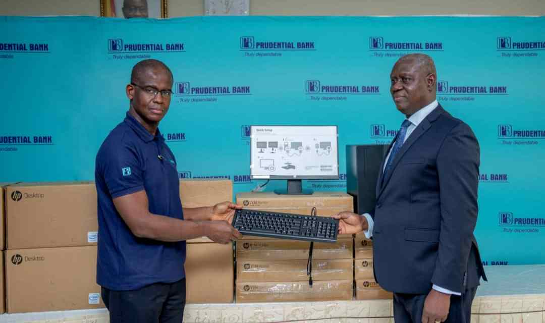 Prudential Bank donates computers to support modernization drive of Ghana Judicial Service