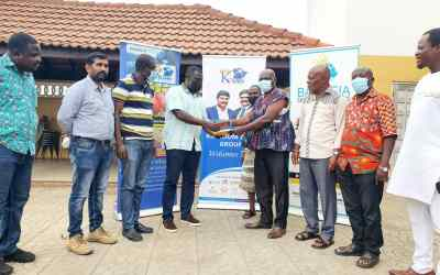 Kingdom Healthcare Services gives to Tema Traditional Council in support of 2021 Homowo