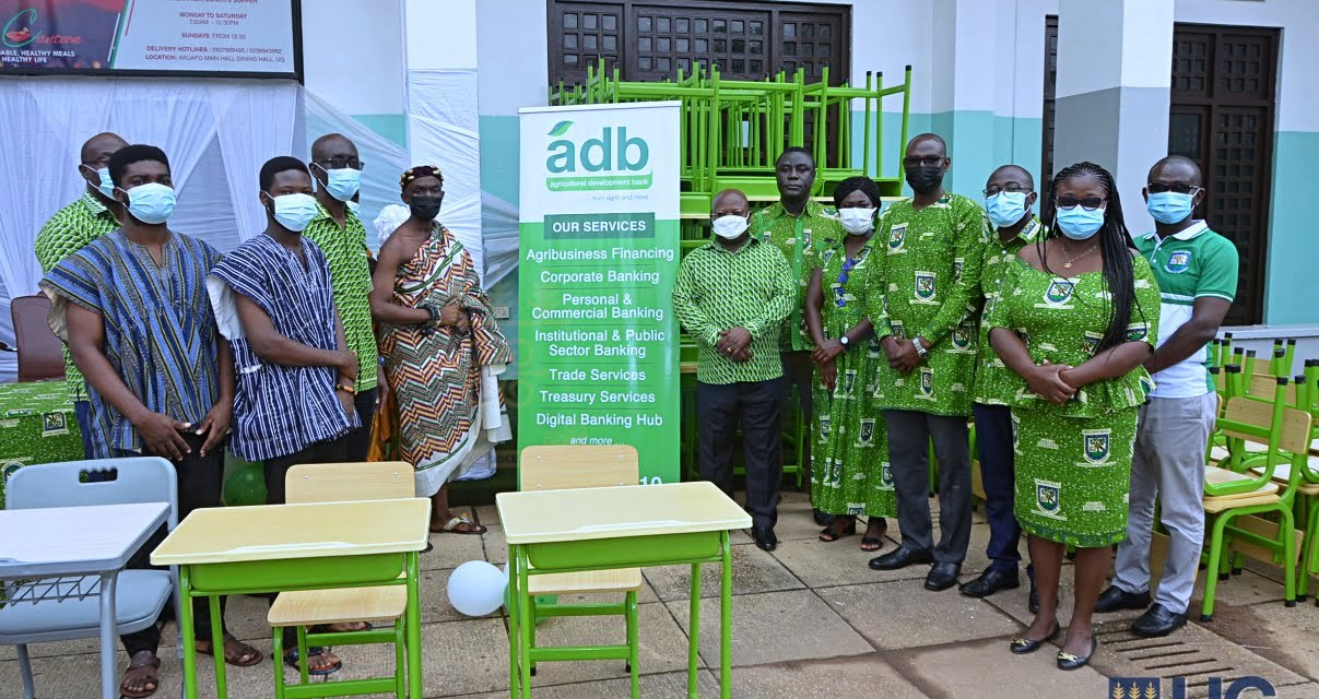 ADB donates GHS50,000 worth of furniture to Akuafo Hall to support hall renovation project