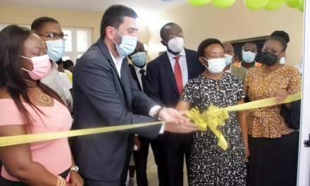 Children's Ward at Korle-Bu Teaching Hospital  renovated by Dredge Masters at cost of GHS1.8M
