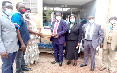 Excellence in Africa Neuroscience and Health gives medical equipment to KATH, Sunyani, Krofa