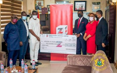 Zenith Bank Ghana donates GHS500,000 to support Black Stars, other national teams