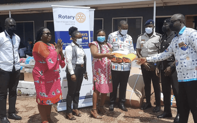 Rotary Club of Sunyani-Central gives medical equipment to 13 health centers in Bono, Ashanti