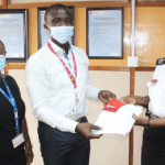 Total Petroleum Ghana Limited donates supply of gasoline to Ghana National Fires Service