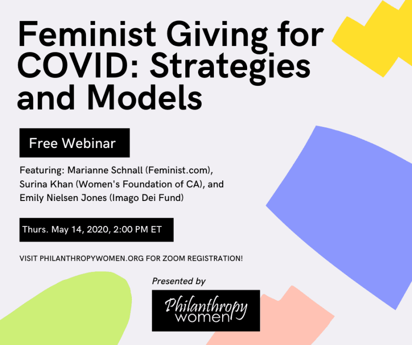 feminist giving for COVID