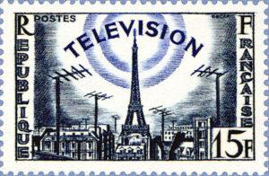 la television francaise philatelie