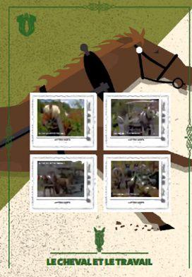 Le cheval et le travail
