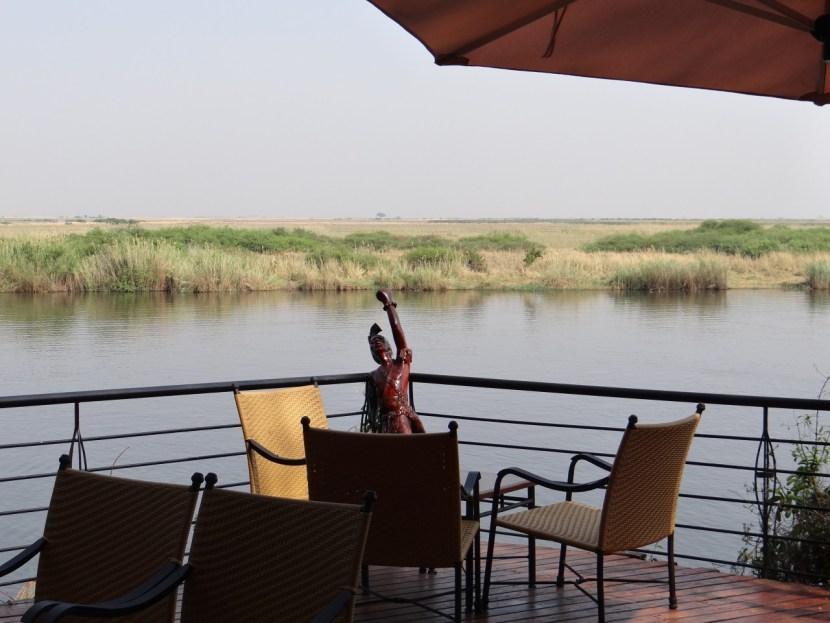 Chobe Safari Lodge view of lake