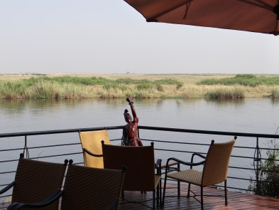 Relaxing lake view - Chobe Safari Lodge