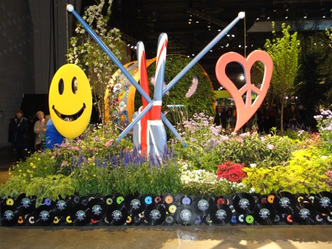It's Groovy, be Happy at the Philadelphia Flower Show