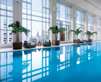 The Pool at Peninsula Chicago